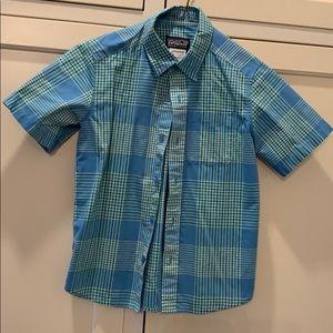 Boys Patagonia short sleeve shirt S (8)
